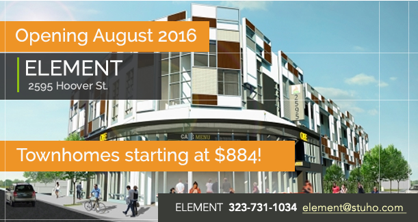 ELEMENT Opening Fall 2016-2017